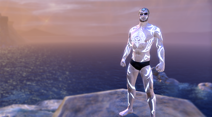 eso psijic order guild body marking imprint of the psijic order glowing tattoos