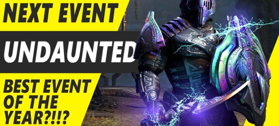 ESO Undaunted Event