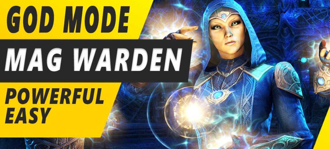Solo Magicka Warden Build PVE DPS