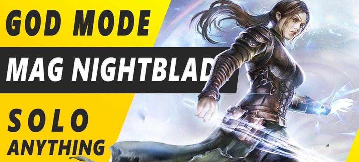 Solo Magicka Nightblade ESO
